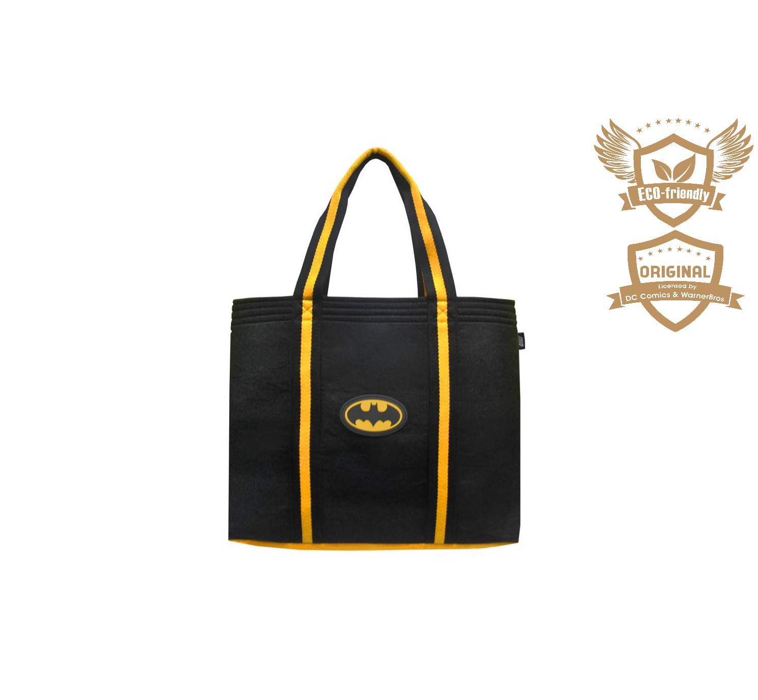 ECO-Super Hero Felt Tote Bag_Batman